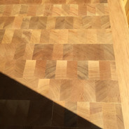 End Cut Wood Floors - Close -up