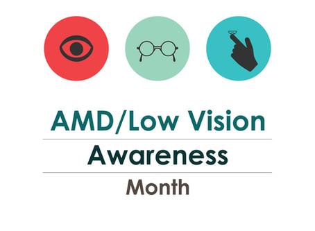 February - Raise Age-related Macular Degeneration Awareness!
