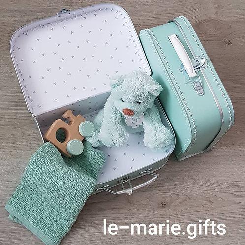 Kinderkoffertje gevuld