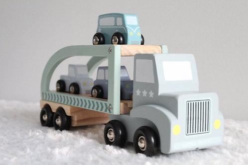Houten Truck Auto-transporter
