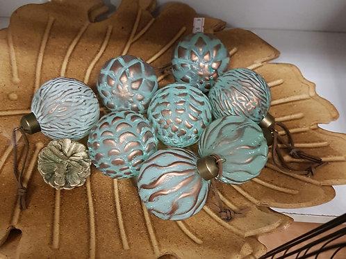 Glazen decoratie ballen