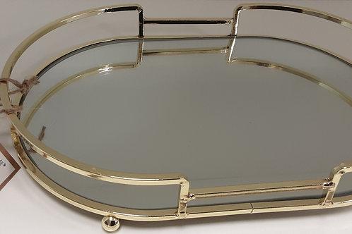 Ovaal spiegel dienblad