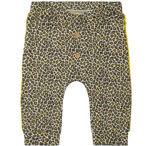 Yellow leopard broekje