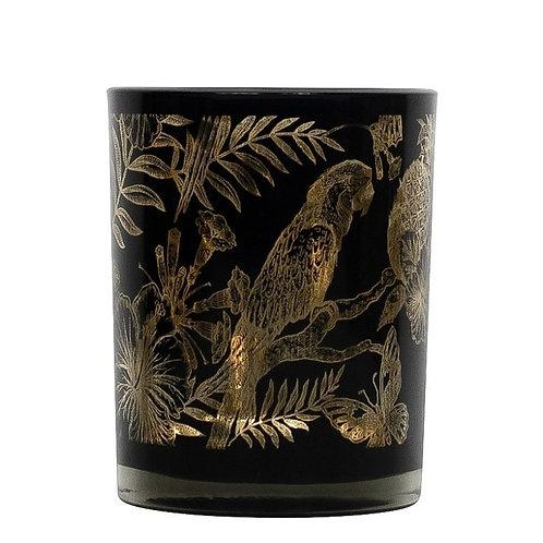 Waxinelichthouder papagaai S