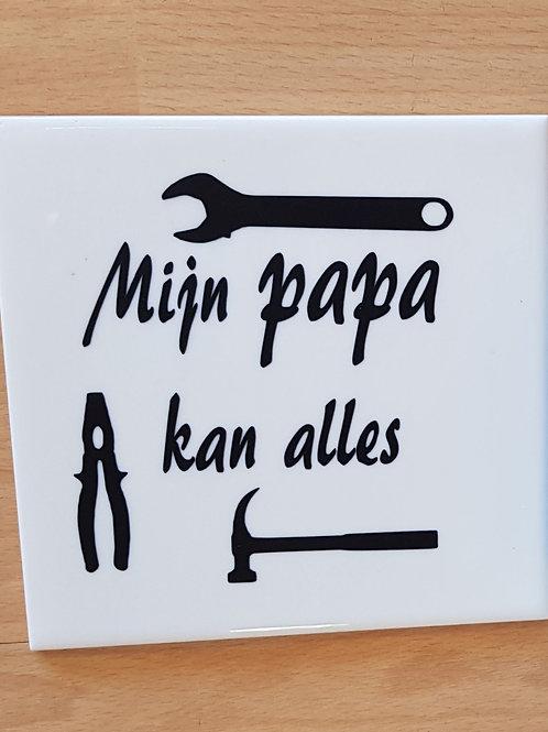 Mijn papa...
