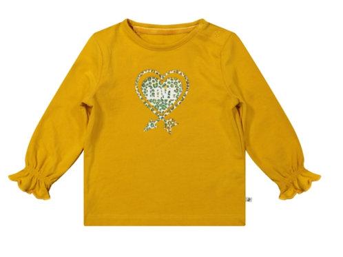Shirt lange mouw ruches