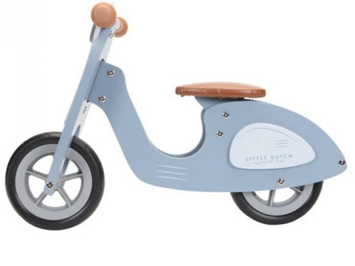 Loopscooter mat blauw