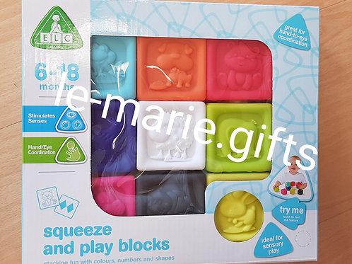 Siliconen speelblokken