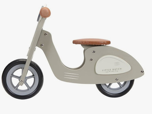 Loopscooter Olijf