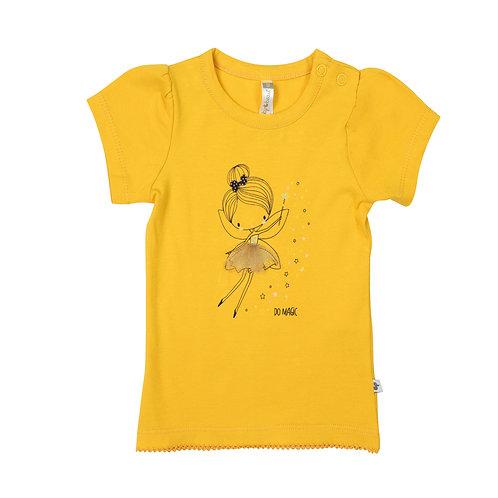 Tshirt goudgeel DESS14