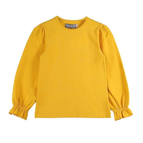 Shirt okergeel /ruchemouw GW20LS028