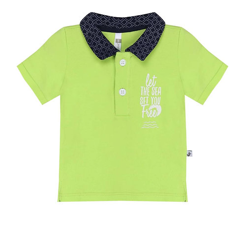 polo lime groen
