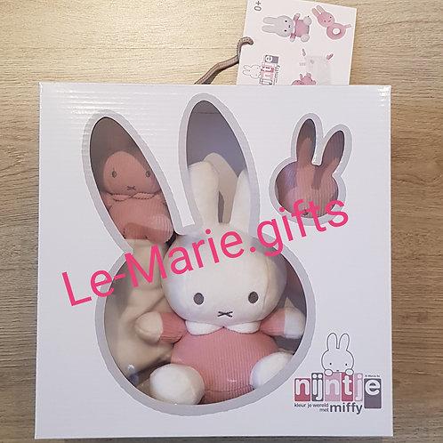 Gift box Nijntje roze (rib)