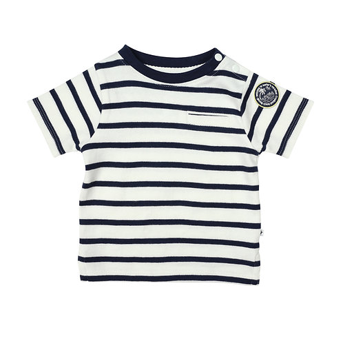 Shirt Navy Striper CESS05