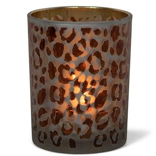 Waxinelichthouder leopard M