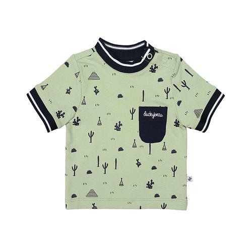 Shirt groen cactus CESS11