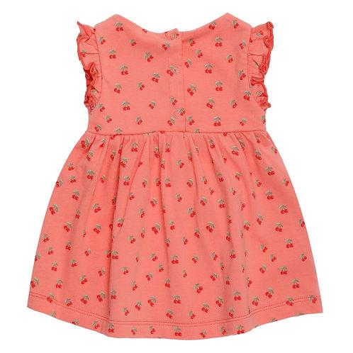 Ducky Beau Dress Cherry