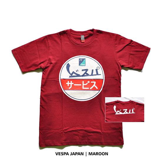 Camiseta Vespa Piaggio Japon