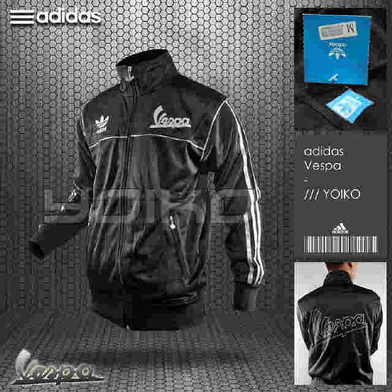 Adidas Chaqueta Negra
