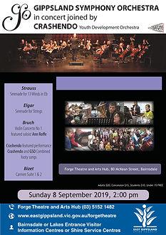 A3 Poster Gippsland Symphony Orchestra-0