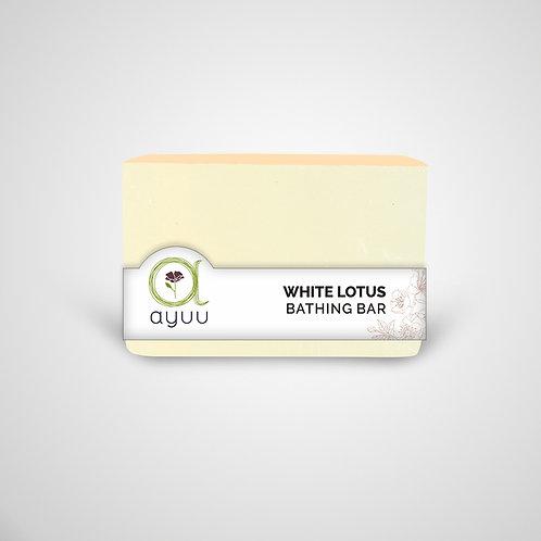 WHITE LOTUS BATHING BAR
