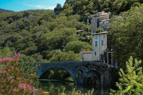 Sauve Village et rivière - Gard