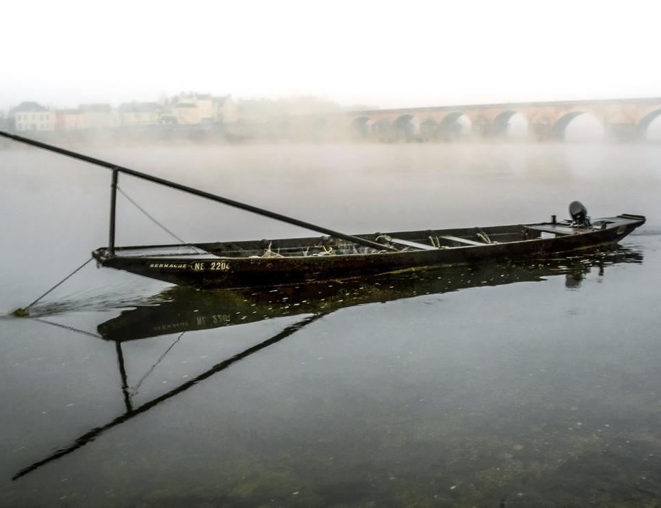 Bateau sur la Loire à Gien