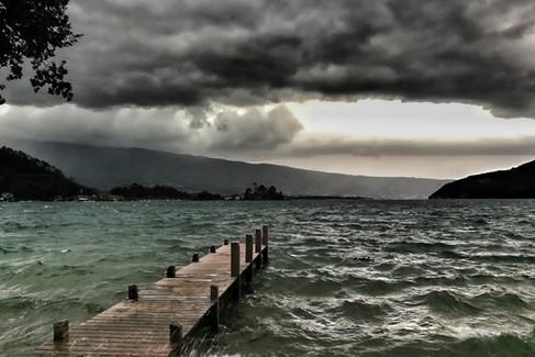Orage sur le Lac d'Annecy