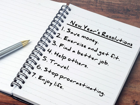 Your 2020 New Year Resolutions...