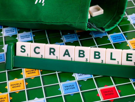 Anyone for Scrabble?