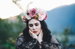Shiverz fresh flower crown