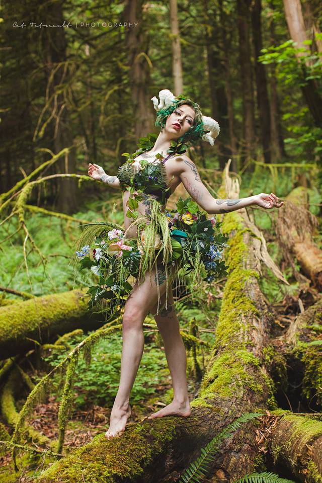 Shiverz Forest fairy Custom costume