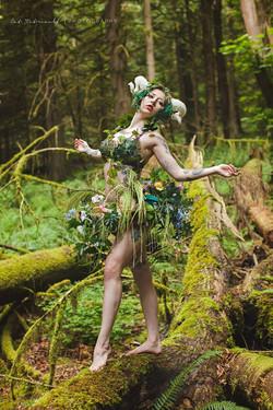 Shiverz Forest fairy Custom costume