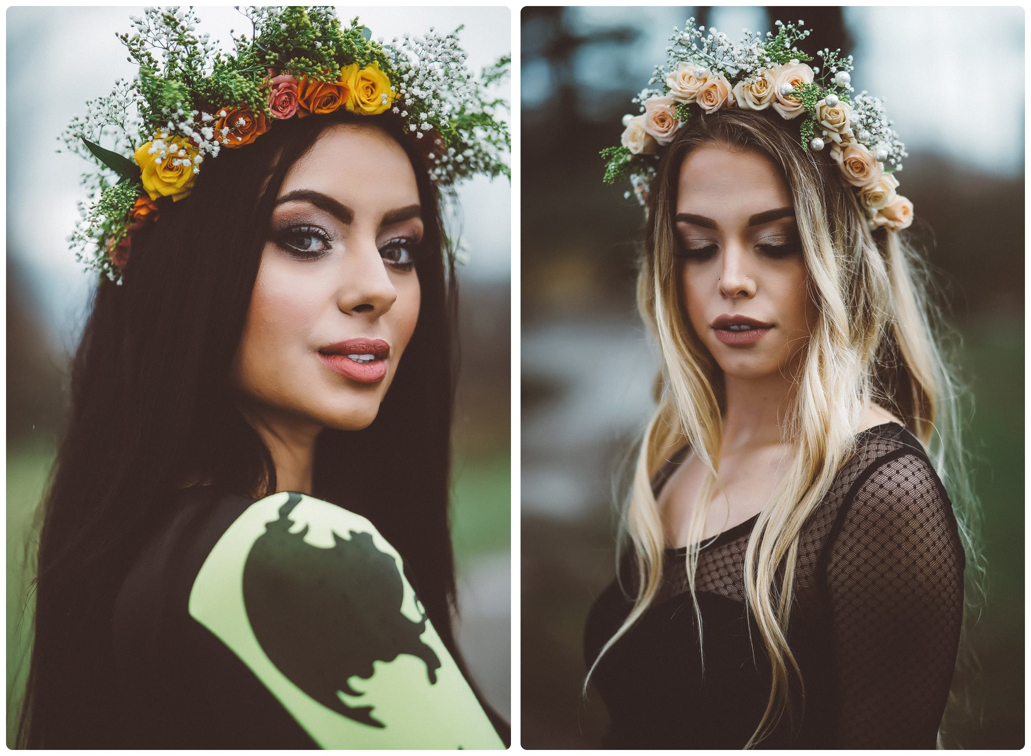Shiverz Fresh Floral crowns