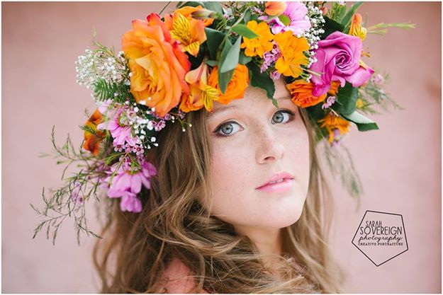 Shiverz fresh Floral Crown