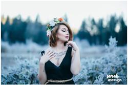 Shiverz Faux Flower Crown
