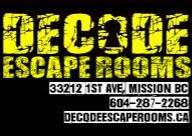 Decode Escape room Staff