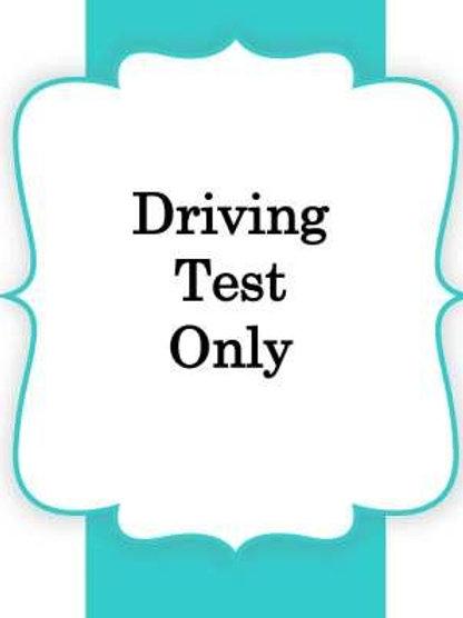 Driving Test 75.00/Permit 25.00