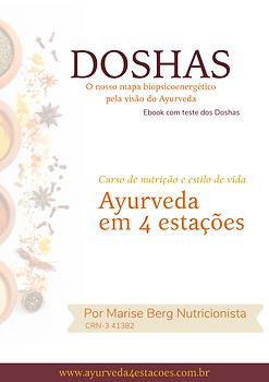 Marise Berg Nutricionista | Ayurveda em 4 Estações | e-book Doshas, nosso mapa biopsicoenergético pela visão do Ayurveda