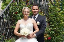 Brautstrauss und Anstecker