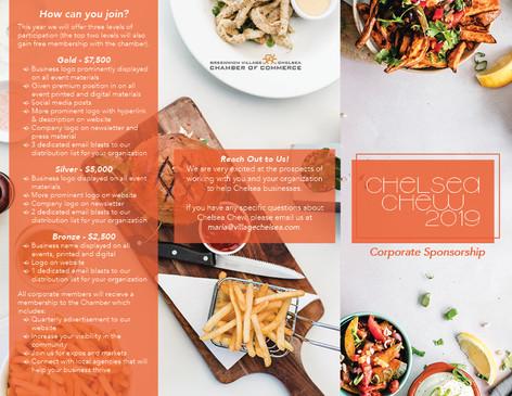 Corporate Sponsorship Brochure