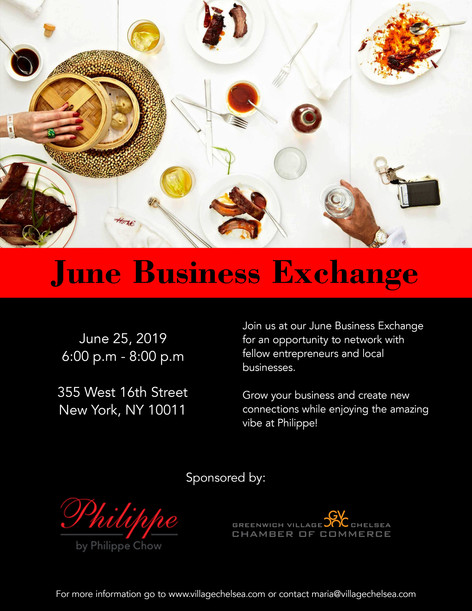 GVCCC Business Exchange Flyer