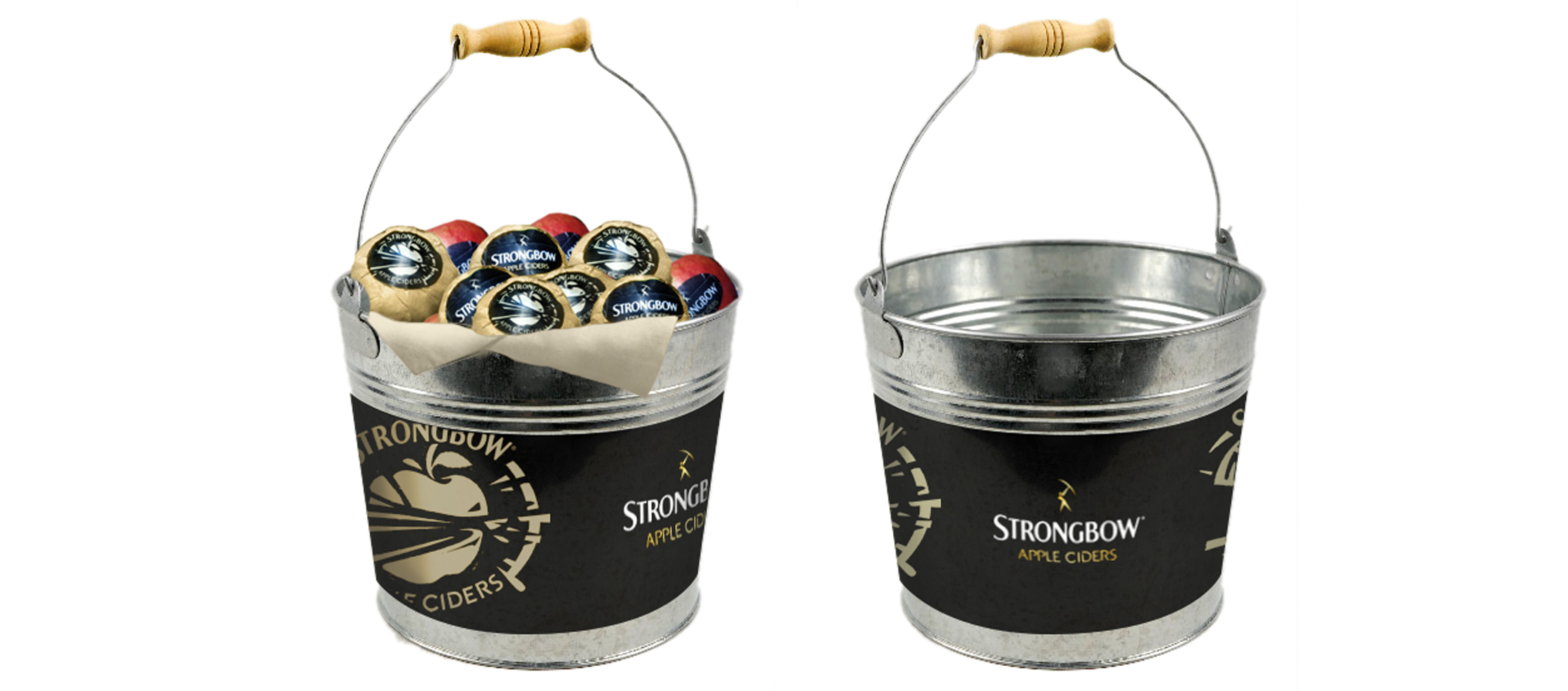 strongbow buckets better