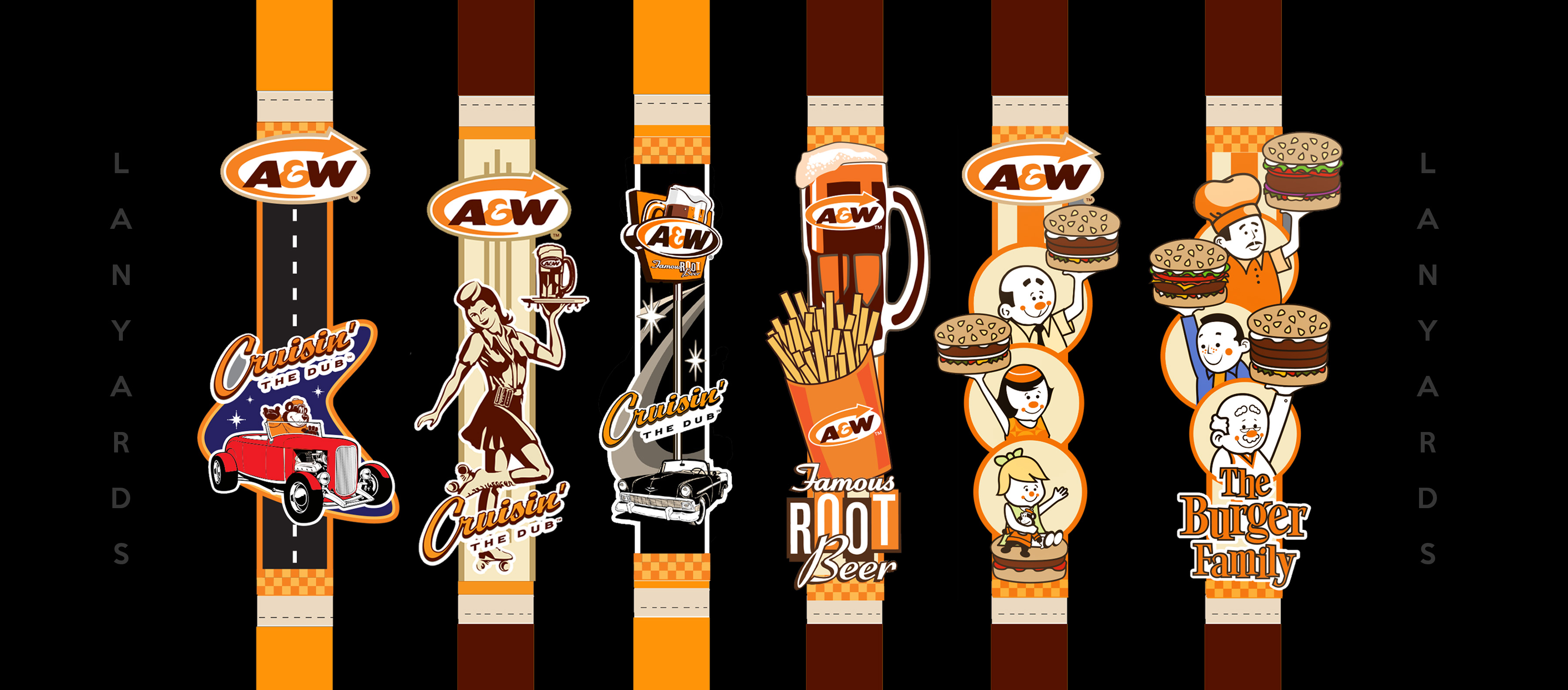 A&W LANYARDS