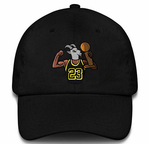 GOAT JAMES Dad Hat