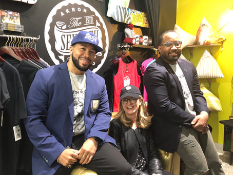 AMEX CMO VISITS 7TH FLOOR CLOTHING STORE