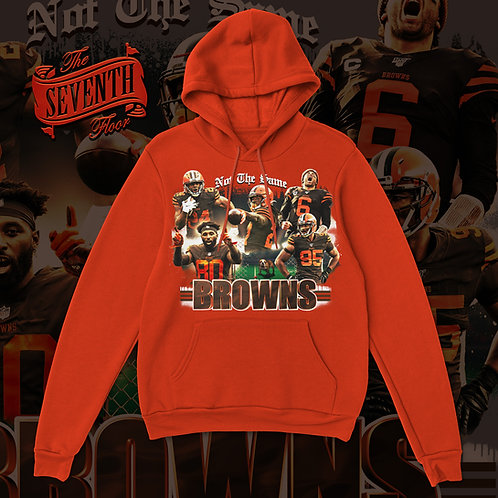 Not The Same Browns Hoodie