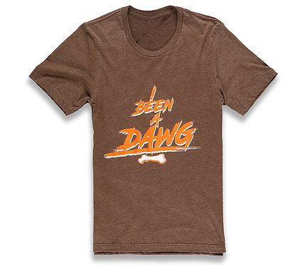 I Been A Dawg Browns Tee Brown