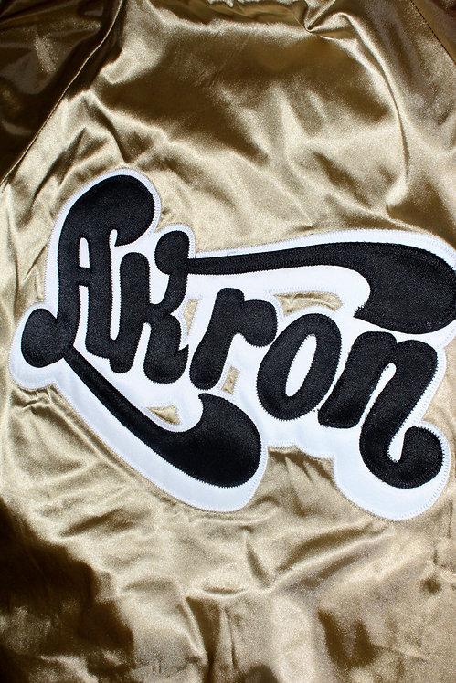 """Akron"" coach's jacket (gold)"