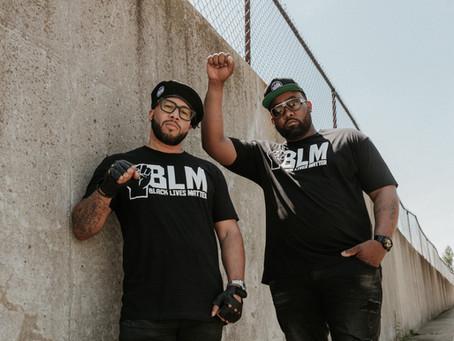 7TH FLOOR & KICKS LOUNGE TEAM UP FOR BLM TEE